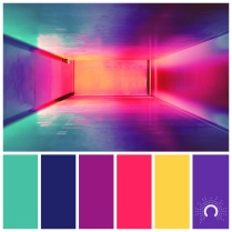 color palette - bright room
