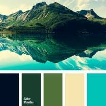 color palette - mountains