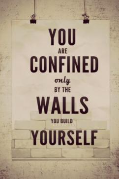 confined walls