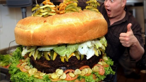 huge food