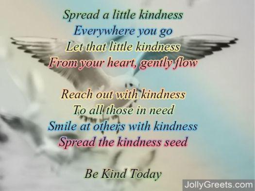 kindness poem